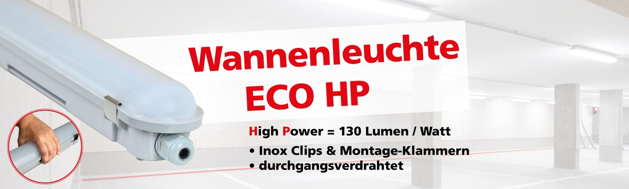 Wannenleuchte ECO High Power