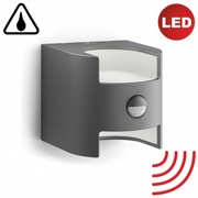 Wandleuchte LED Grass Sensor 2x4,5W anthrazit